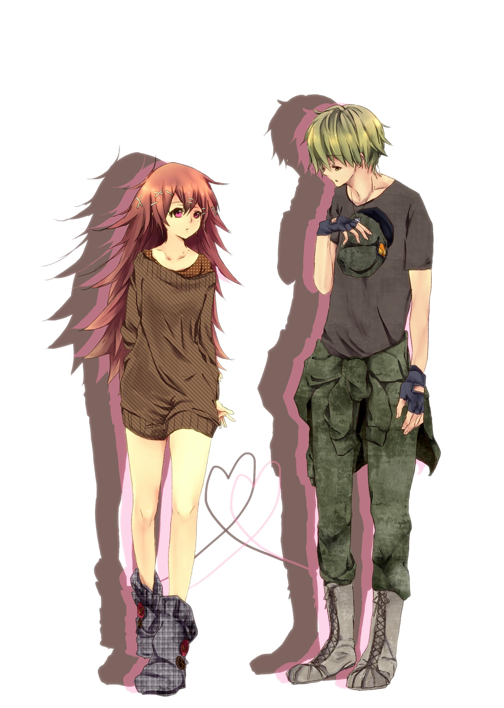 Couple cute anime girl blonde hair for Zerochan anime