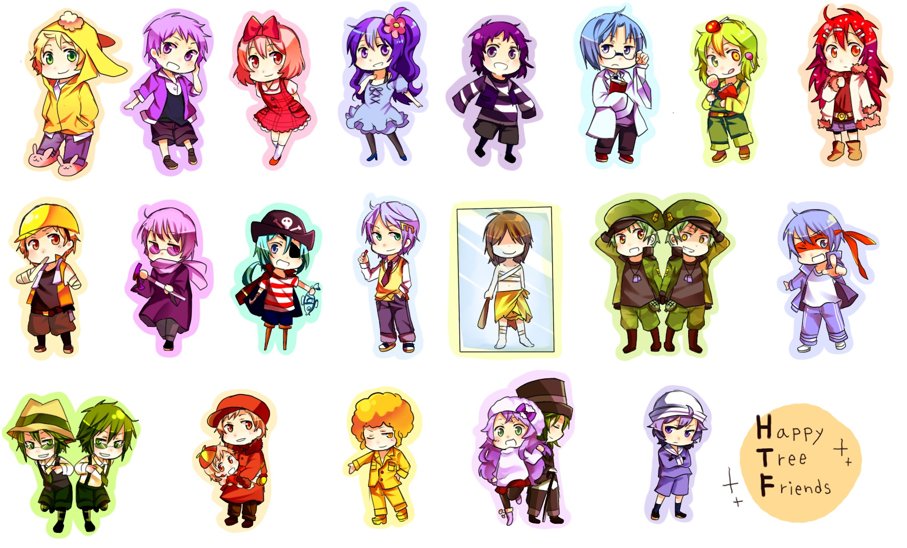 Happy Tree Friends Anime style by MegaMaverickHunter on ...
