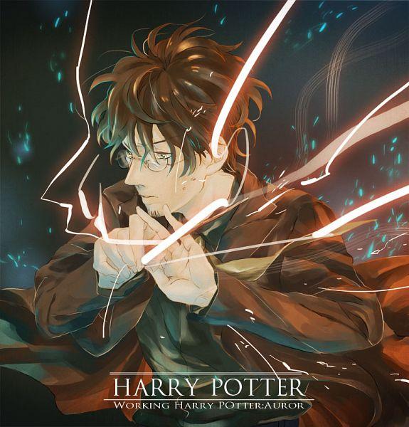 Tags: Anime, Kena, Harry Potter, Harry Potter (Character), Magic, Wand, Facial Hair