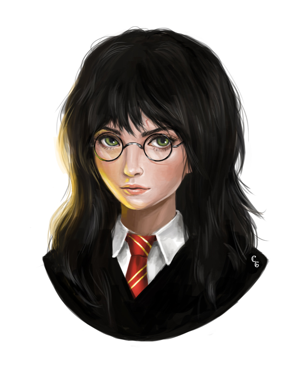 Tags: Anime, Charasix (Artist), Harry Potter, Harry Potter (Character), V-neck, Lightning Bolt (Symbol), Fanart, PNG Conversion, deviantART, Fanart From DeviantART