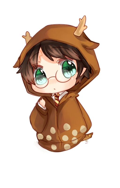 Tags: Anime, Ko Kyuu, Harry Potter, Harry Potter (Character), Reindeer Costume, Mobile Wallpaper