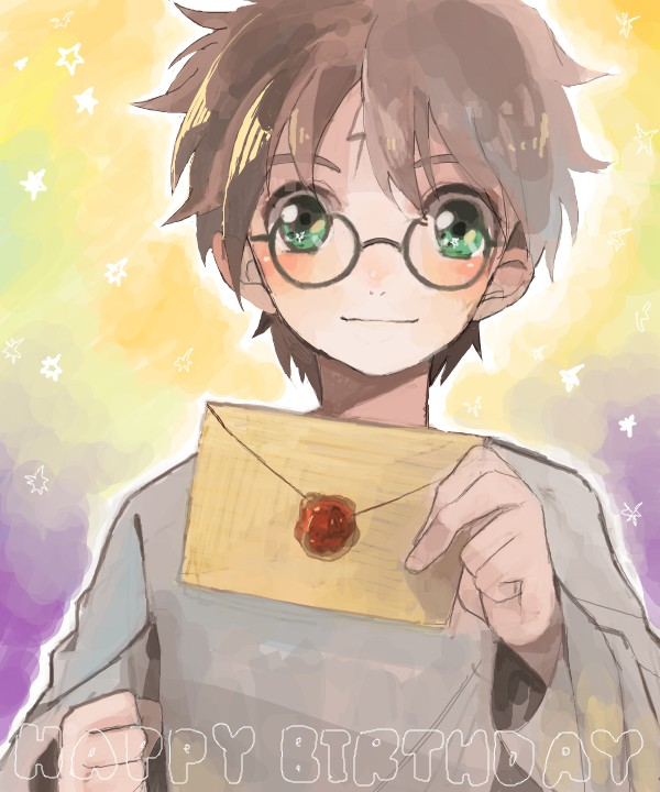 Tags: Anime, Sibujya, Harry Potter, Harry Potter (Character), Letters
