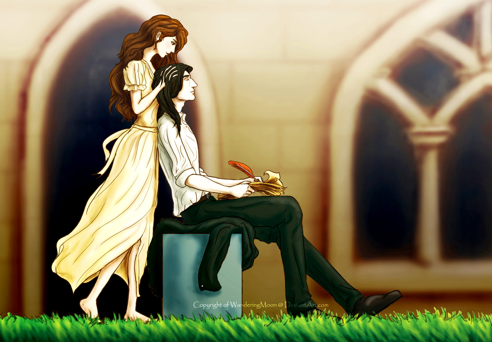 Severus Snape Hermione Granger