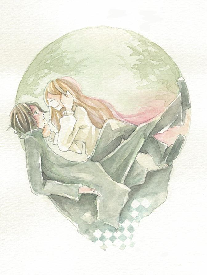 Tags: Anime, Pixiv Id 3174715, Harry Potter, Lily Evans, Severus Snape