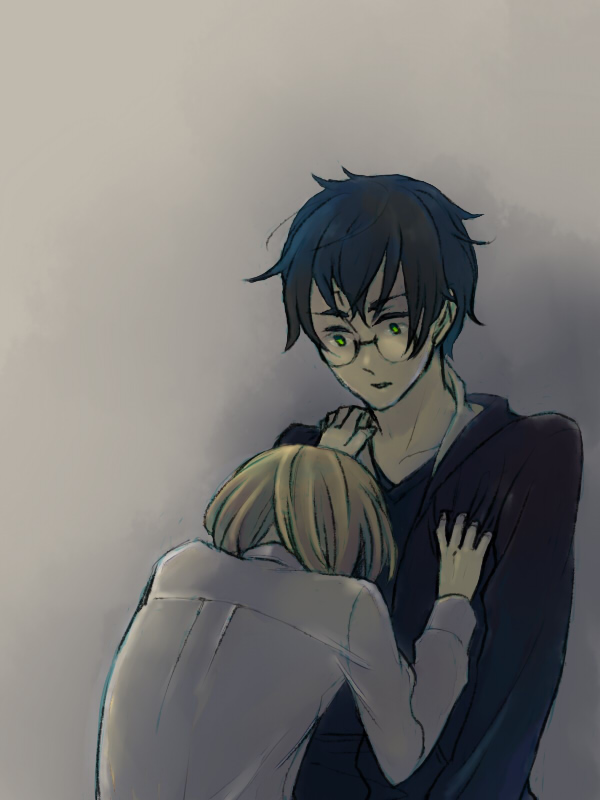 Tags: Anime, Pixiv Id 1054708, Harry Potter, Harry Potter (Character), Draco Malfoy, Pixiv, Fanart