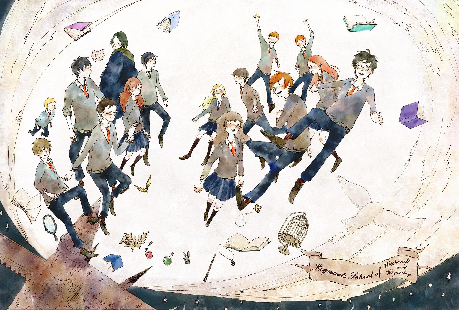 hedwig fanart zerochan anime image board