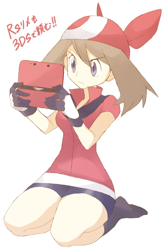 Tags: Anime, Souji (Pixiv194555), Pokémon, Haruka (Pokémon), Nintendo 3DS, Fanart From Pixiv, Fanart, PNG Conversion, Mobile Wallpaper, Pixiv, May (pokémon)