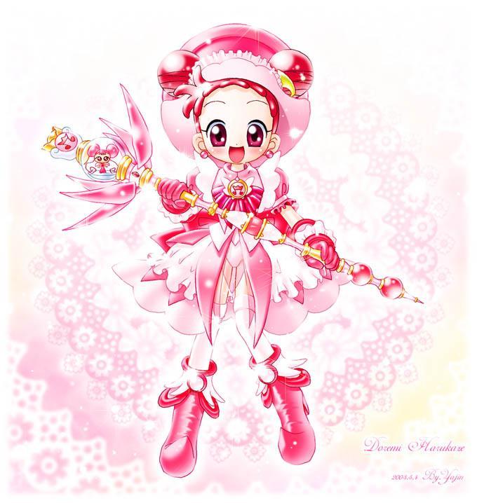 Tags: Anime, Yajin (Artist), Ojamajo DoReMi, DoDo (Ojamajo DoReMi), Harukaze Doremi, Fanart