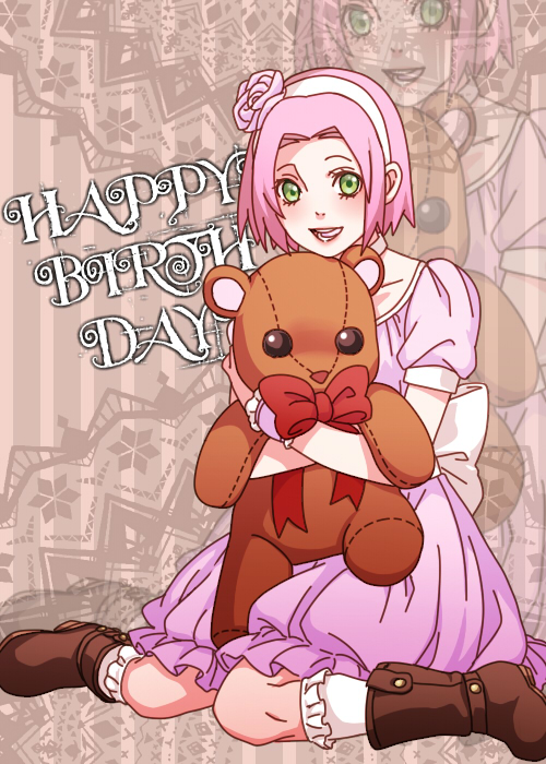 Tags: Anime, Pixiv Id 4368774, NARUTO, Haruno Sakura, Petticoats, Knee High Socks, Wariza