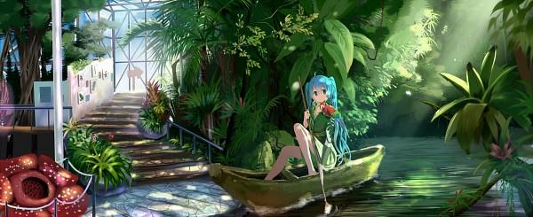 Tags: Anime, Fanart, Hatsune Miku, Vocaloid, Pixiv