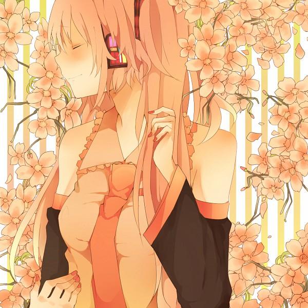 Tags: Anime, Mono (Recall), VOCALOID, Hatsune Miku, Striped Background, Alternate Color