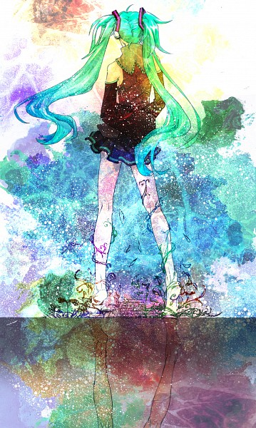 Tags: Anime, Hatsune Miku, Vocaloid, Piapro Illustrated, Artist Request