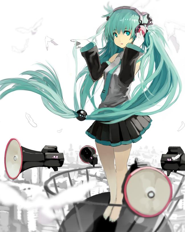 Tags: Anime, nauribon, VOCALOID, Hatsune Miku, Love is War