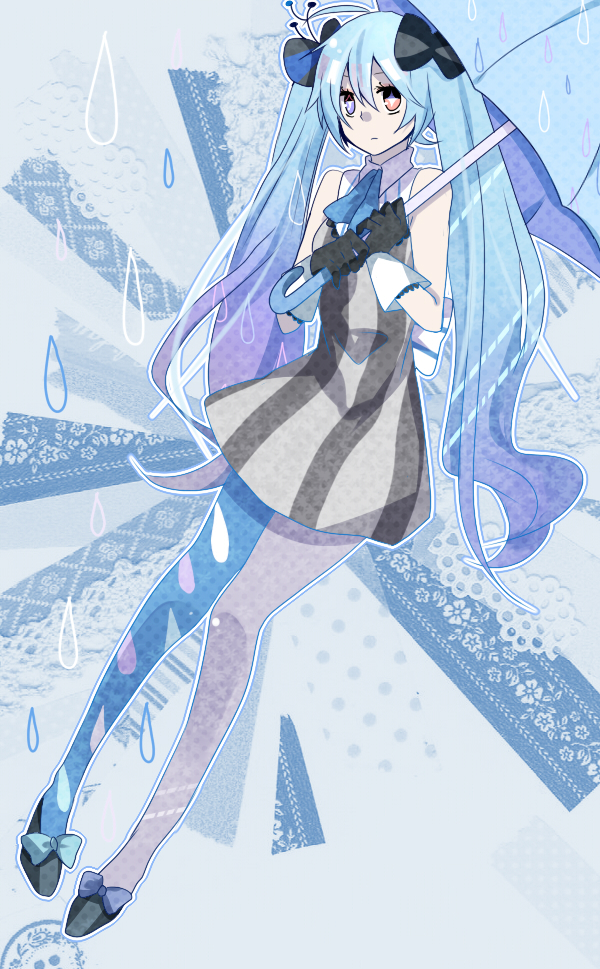 Tags: Anime, Pixiv Id 2442713, VOCALOID, Hatsune Miku, Raindrop (Symbol), Jito Design, Fanart, Fanart From Pixiv, Mobile Wallpaper, Pixiv