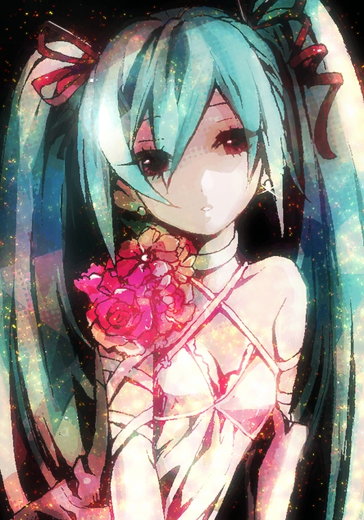 Tags: Anime, Kijin, VOCALOID, Hatsune Miku, Mobile Wallpaper