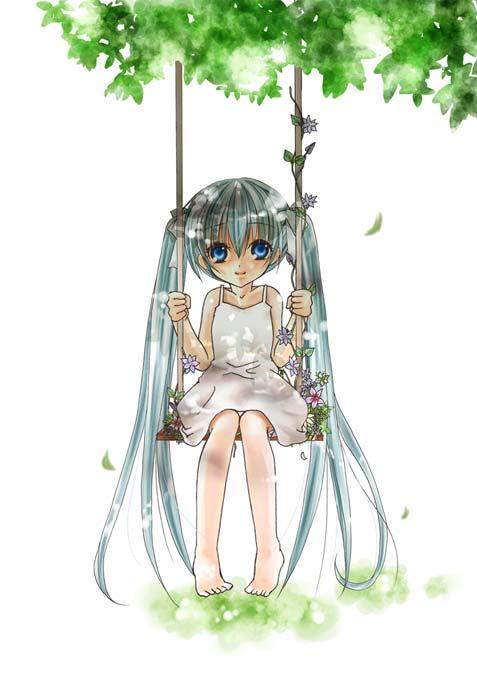 Hatsune Miku Vocaloid Mobile Wallpaper 12334