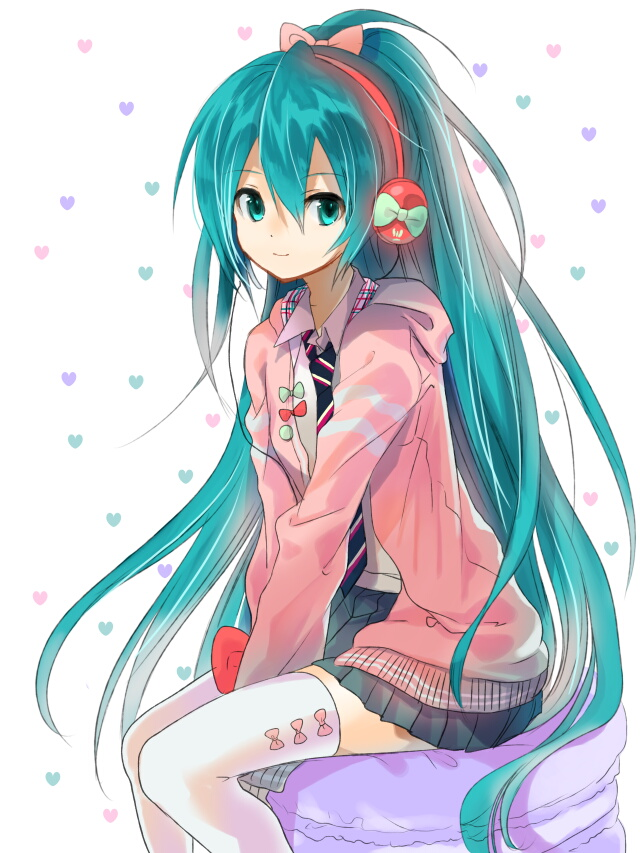 Tags: Anime, Nari Otoko, Project DIVA F, VOCALOID, Hatsune Miku, Pixiv, Project DIVA Ribbon Girl