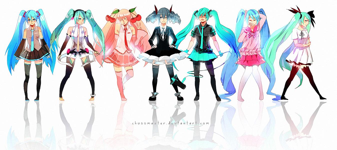 hatsune miku wallpaper outfits - photo #7