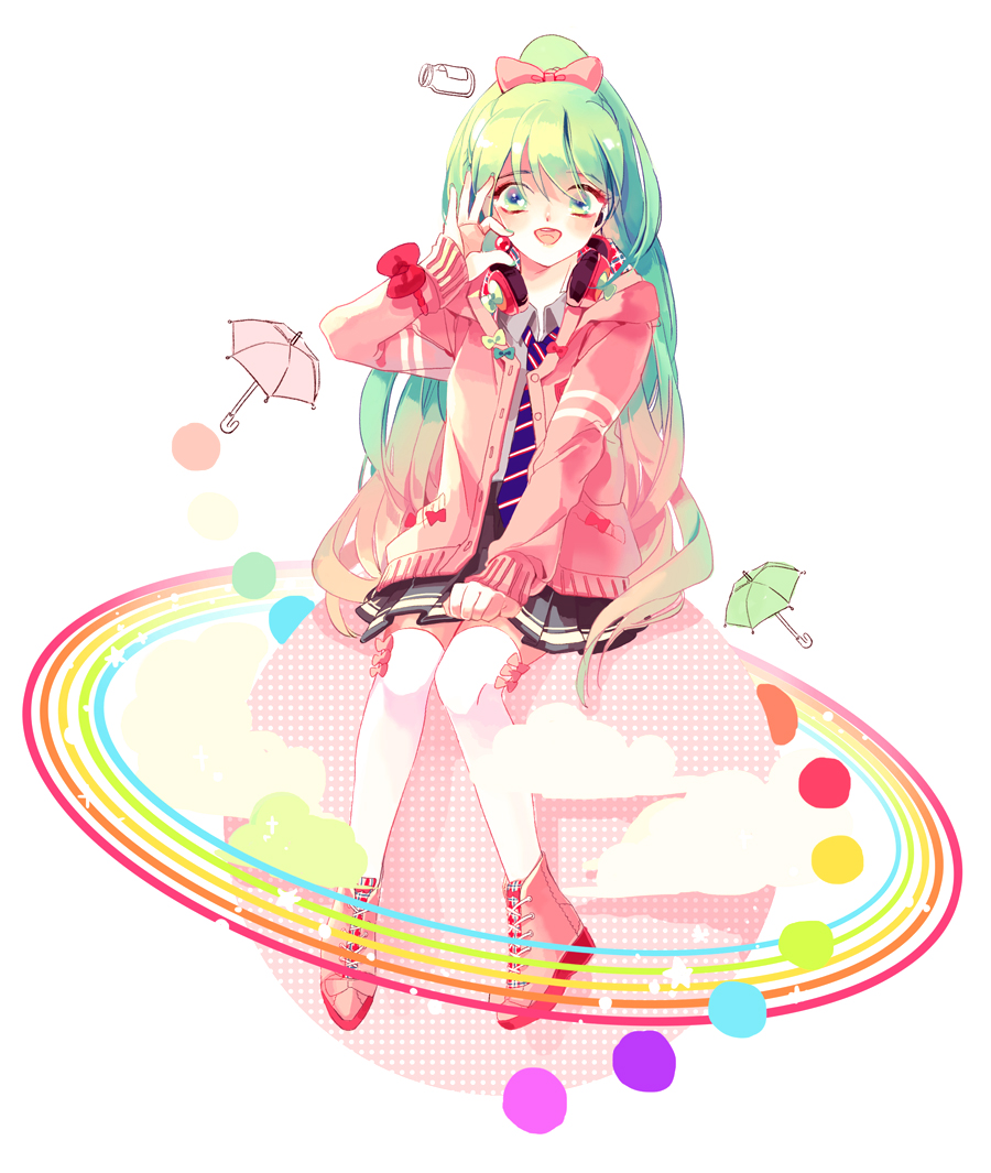 Project Diva Ribbon Girl Project Diva F Zerochan Anime