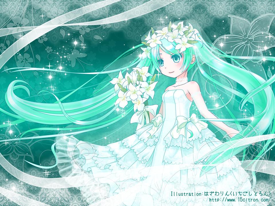 Wedding Dress, Bouquet | page 15 - Zerochan Anime Image Board