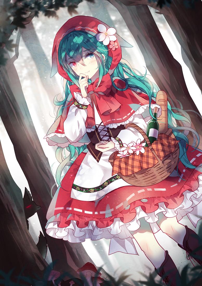 Tags: Hatsune Miku, VOCALOID, Domotolain, Mobile Wallpaper