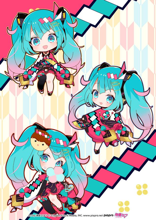 Tags: Anime, VOCALOID, Hatsune Miku, Cotton Candy, Tsuda Koyori, Twitter, Piapro Illustrated, Magical Mirai 2020, Magical Mirai