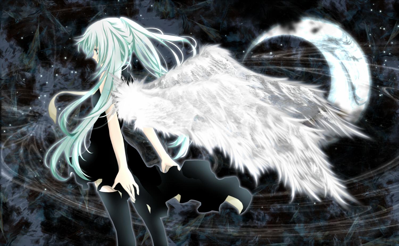 hatsune miku angel wallpapers - photo #36