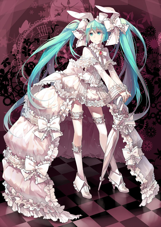 Hatsune Miku - VOCALOID - Mobile Wallpaper #428483