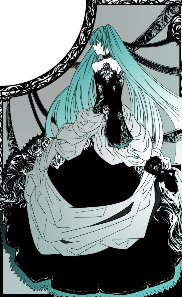 Tags: Anime, VOCALOID, Hatsune Miku, Mobile Wallpaper, Cantarella (Song)