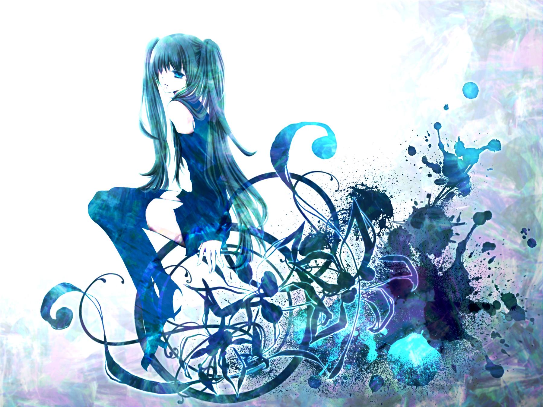 wallpaper art yayoi vocaloid - photo #42