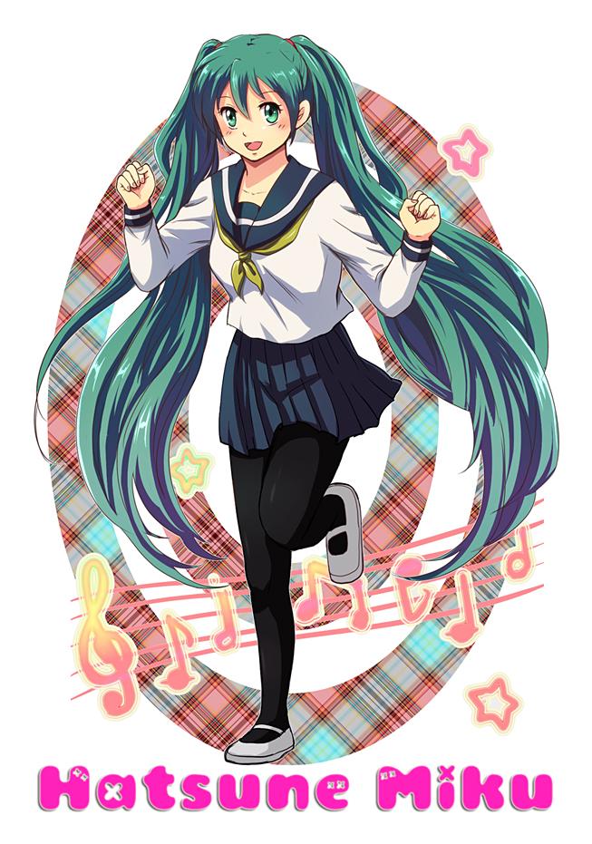 Tags: Anime, Tennen Shiori, VOCALOID, Hatsune Miku, Pixiv