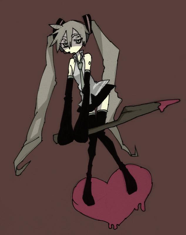 Tags: Anime, Kuragura, VOCALOID, Hatsune Miku