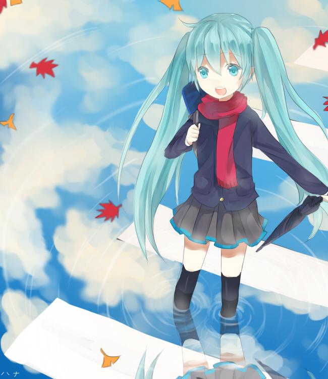 Tags: Anime, Yukinanaedo, VOCALOID, Hatsune Miku, Traveling Mood, deviantART