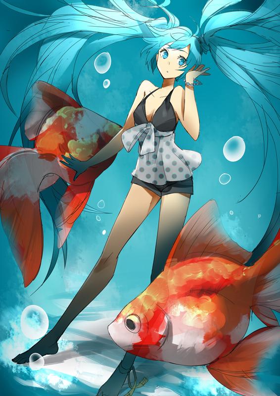 Tags: Anime, Mon (Sugimo321), VOCALOID, Hatsune Miku, Piapro Illustrated, Pixiv, Mobile Wallpaper, Fanart