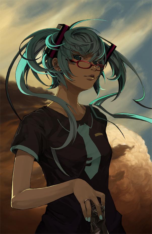 Tags: Anime, Pixiv Id 30780, VOCALOID, Hatsune Miku