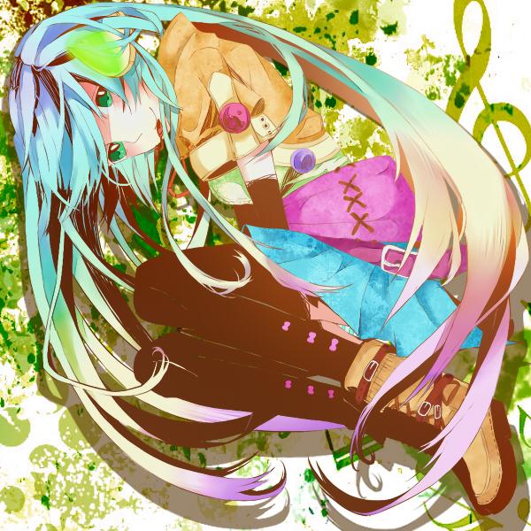 Tags: Anime, VOCALOID, Hatsune Miku