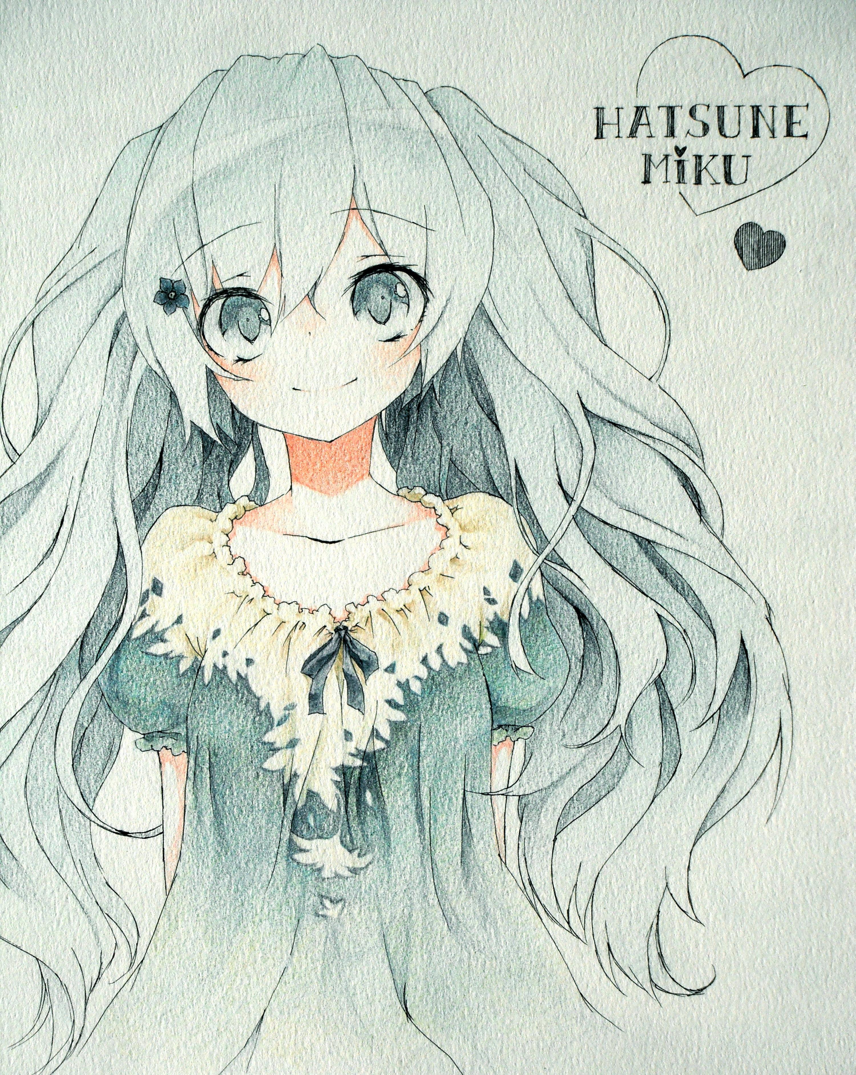 Colored Pencil Medium Traditional Media Zerochan Anime Image Board