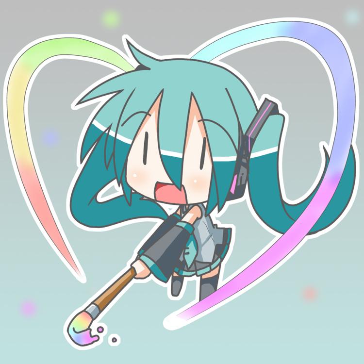 Vocaloid Chibi Miku Chibi Miku-san - VOCAL...