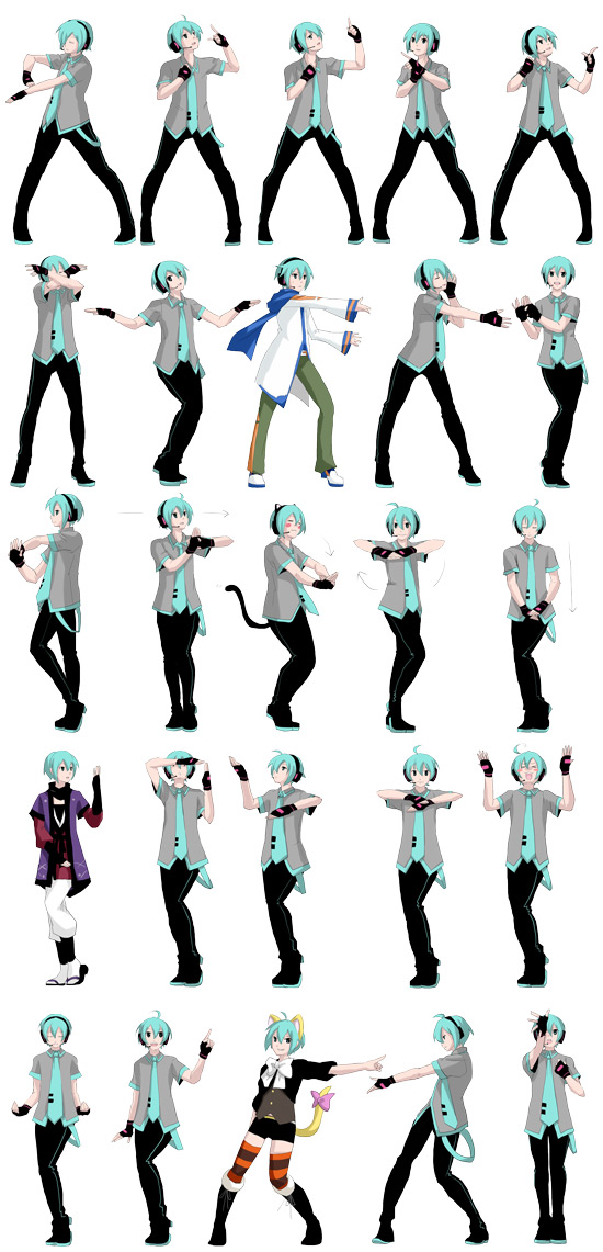 Tags: Anime, Pixiv Id 4517818, Project DIVA Extend, VOCALOID, Hatsune Mikuo, KAITO (Cosplay), Strobo Nights, Project DIVA Drizzle