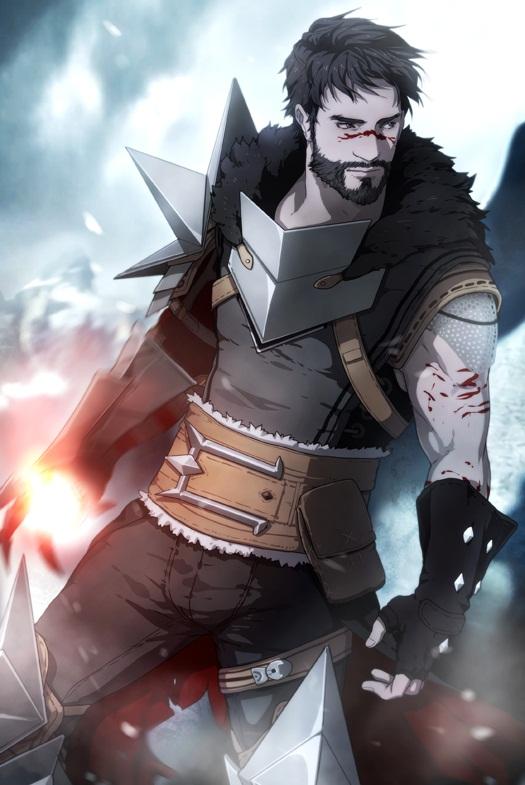 Tags: Anime, Gobeur, Dragon Age 2, Dragon Age, Hawke (Dragon Age 2), Garrett Hawke, Hawke, Mobile Wallpaper