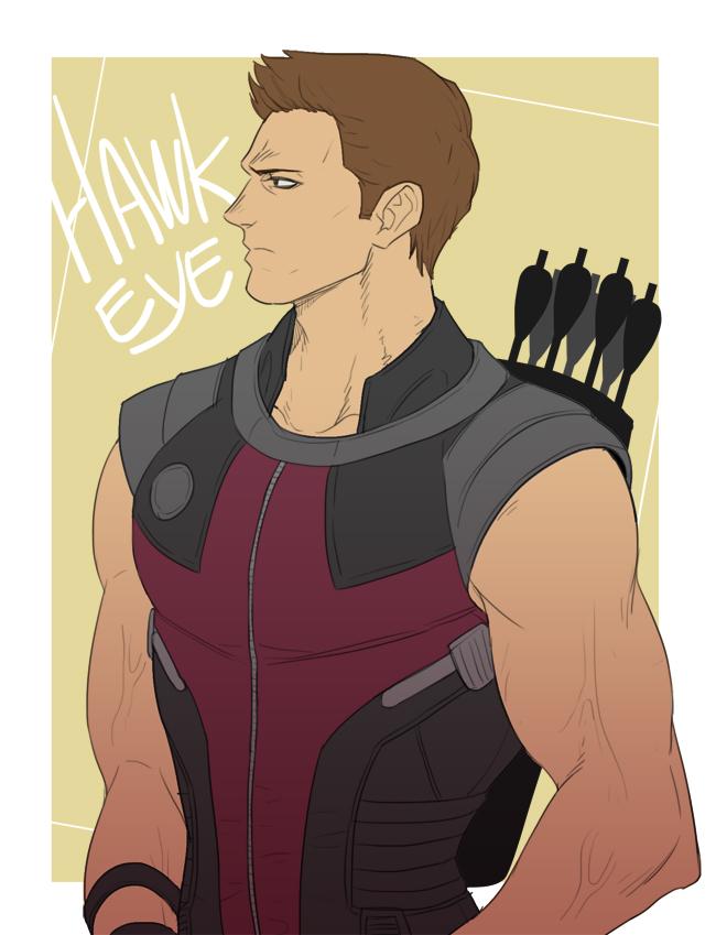 Tags: Anime, Quere, The Avengers, Hawkeye (Character), Fanart From DeviantART, Marvel, deviantART, Fanart