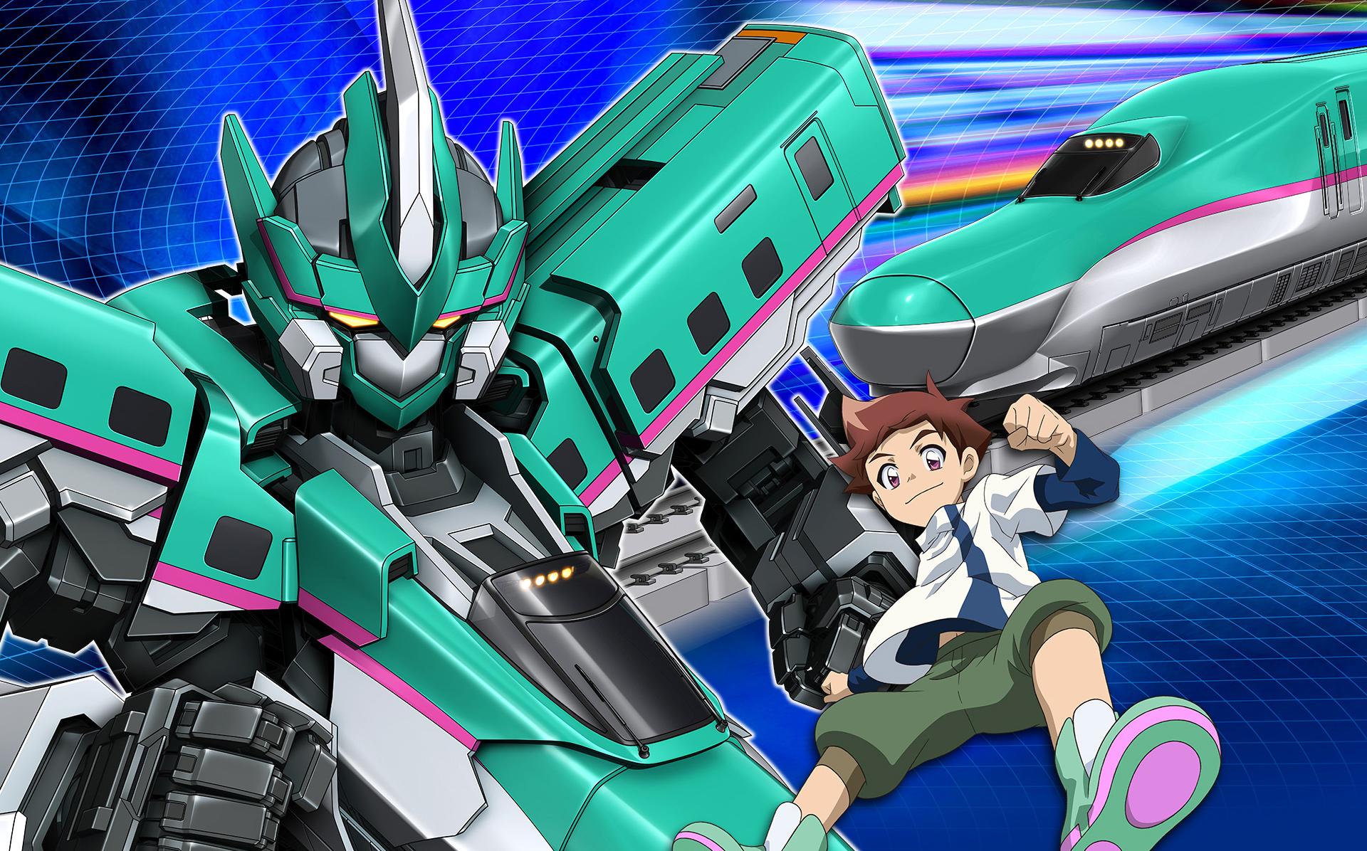 新幹線変形ロボ シンカリオン THE ANIMATION 第1話(新) 「出発!! シンカリオン E5はやぶさ」