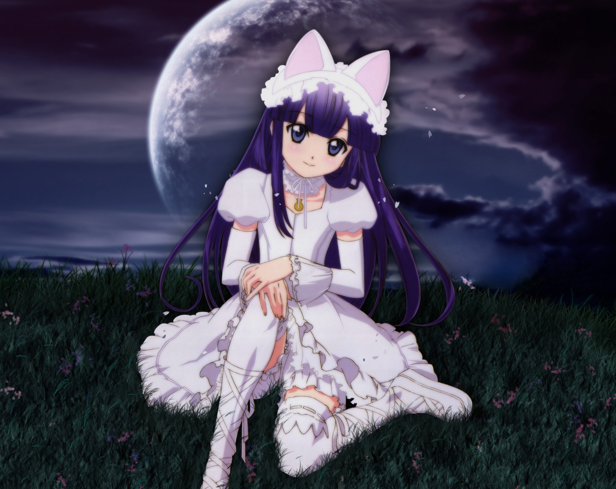 moon phase anime wallpaper