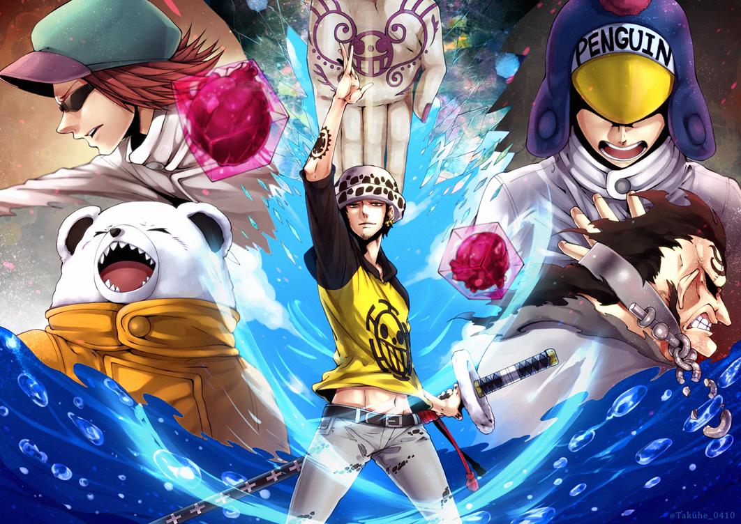 Heart pirates image 1481707 zerochan anime image board - Jean bart one piece ...