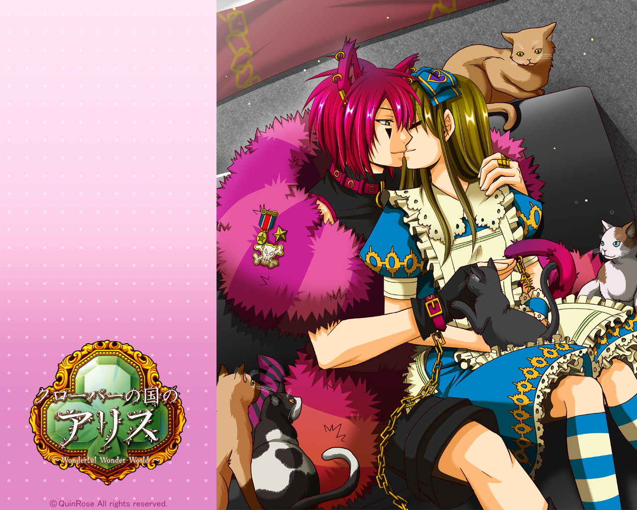 Alice in the country of Hearts images <b>Boris</b>,Ace,and Blood HD ...