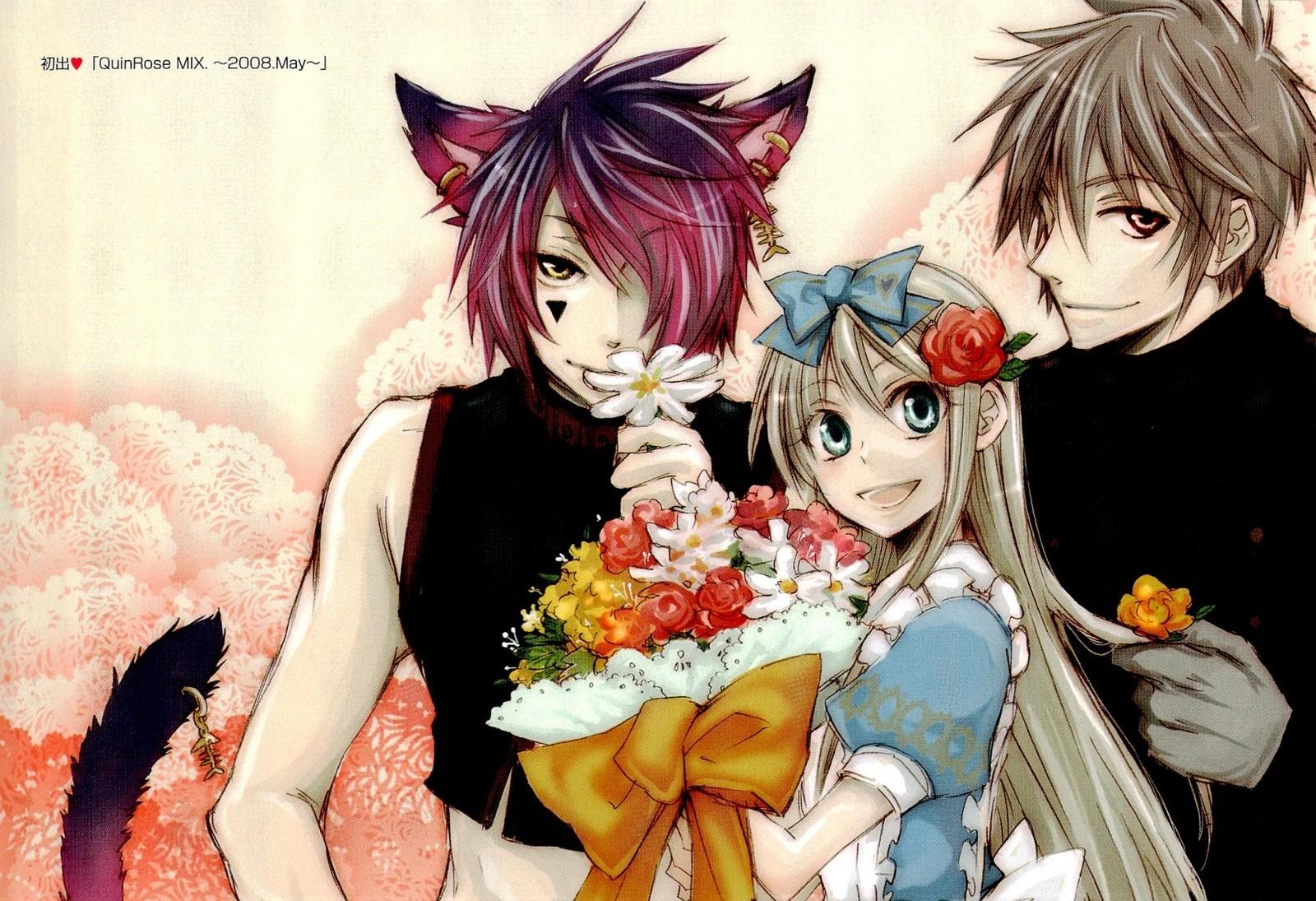 Скачать аниме обои Heart no Kuni no Alice Wonderful / Алиса в Стране