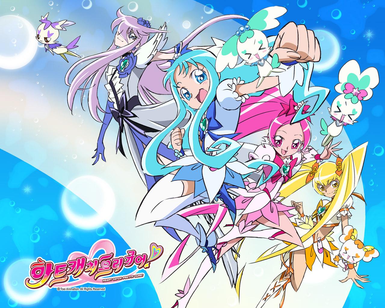 Heartcatch Precure Wallpaper 1308243 Zerochan Anime Image Board