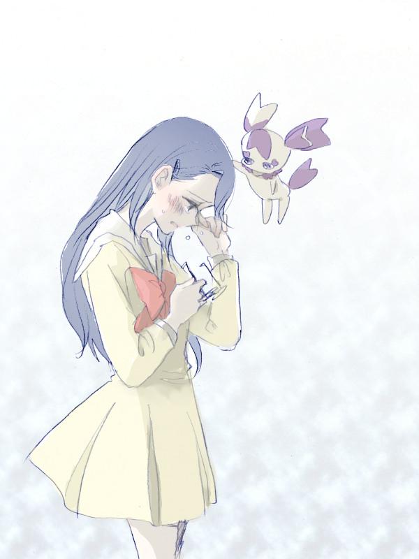 Tags: Anime, Pixiv Id 2293504, Heartcatch Precure!, Cologne (Precure), Tsukikage Yuri, Pixiv, Fanart From Pixiv, Wallpaper, Fanart