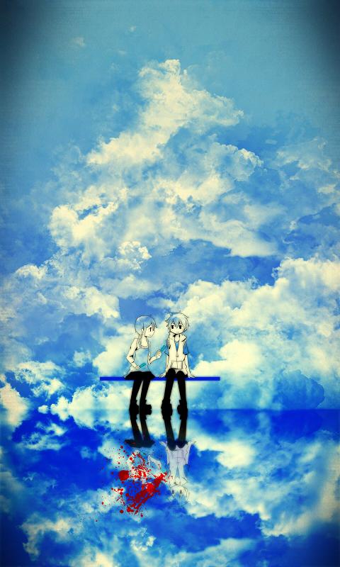 Tags: Anime, Vocaloid, Pixiv Id 53374, Heat-haze Days, Shizennoteki-p