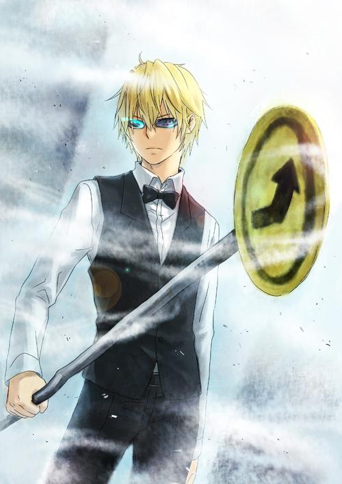 Tags: Anime, enick, DURARARA!!, Heiwajima Shizuo, Pixiv, Mobile Wallpaper, Fanart